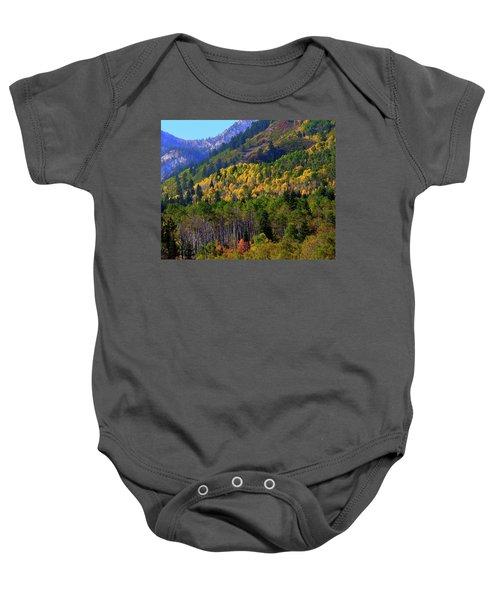 Autumn In Utah Baby Onesie