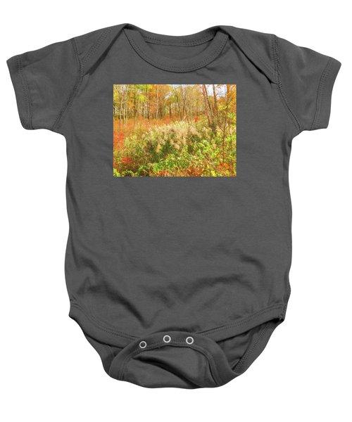 Autumn Landscape Baby Onesie