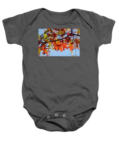 Autumn Leaves 16 Baby Onesie