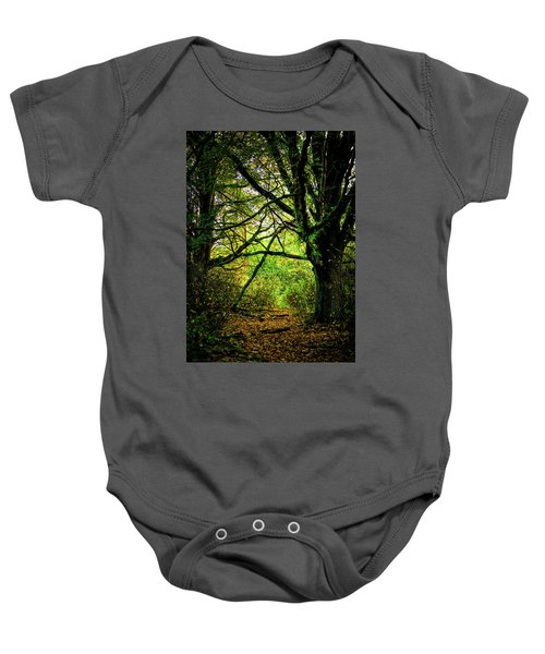 Baby Onesie featuring the photograph Autumn Light by David Patterson