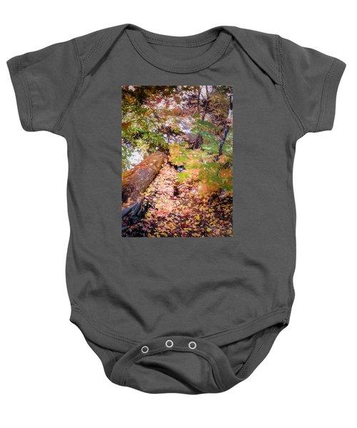 Autumn On The Mountain Baby Onesie