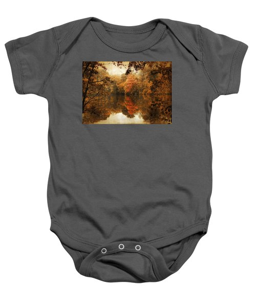 Autumn Reflected Baby Onesie
