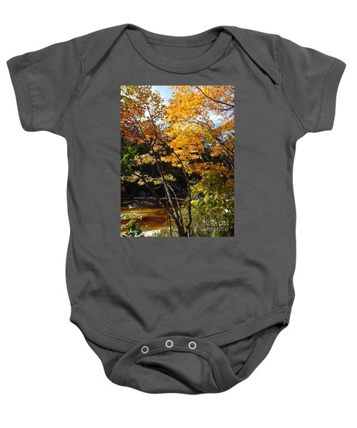 Autumn River Baby Onesie