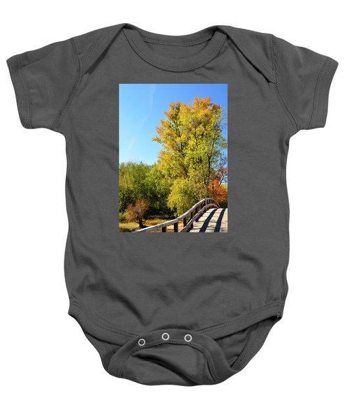 Autumnal North Bridge Baby Onesie