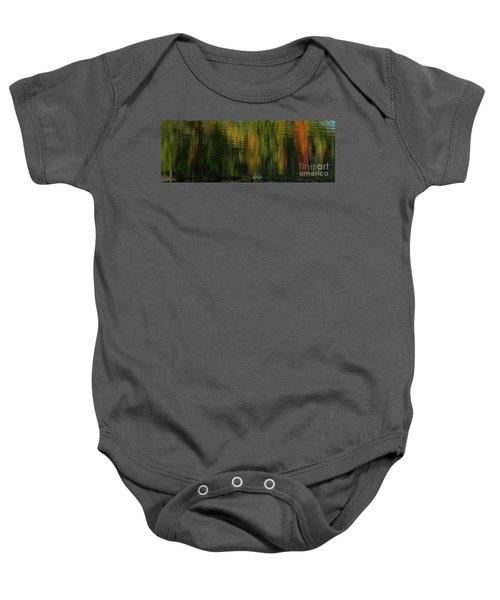 Autumnal Reflections Baby Onesie