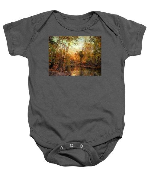Autumnal Tones Baby Onesie