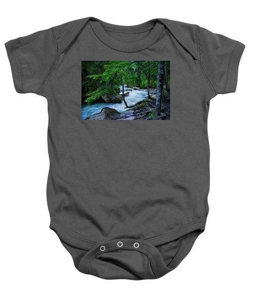 Avalanche Creek Baby Onesie