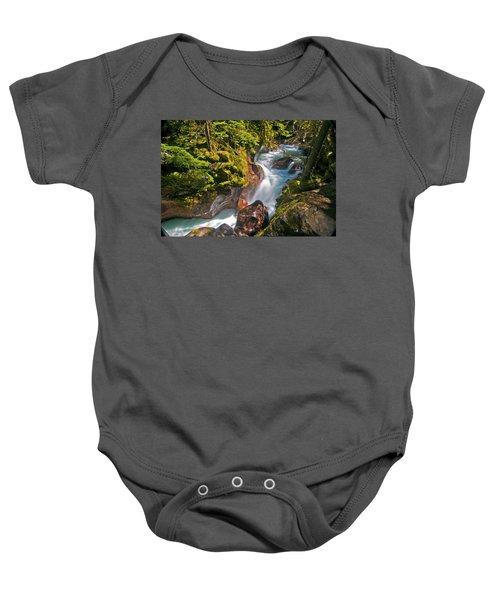 Avalanche Gorge Baby Onesie