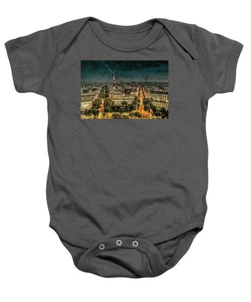 Paris, France - Avenue Kleber Baby Onesie