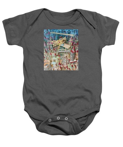 Aviator Baby Onesie