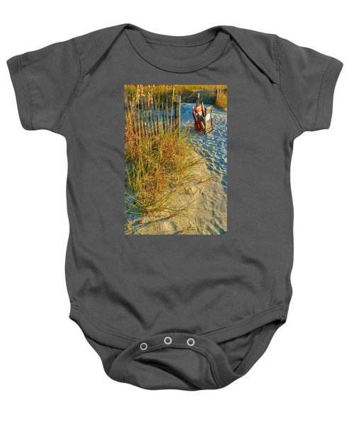 Awaiting Relaxation Baby Onesie