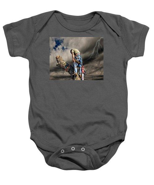 Ax Man Baby Onesie