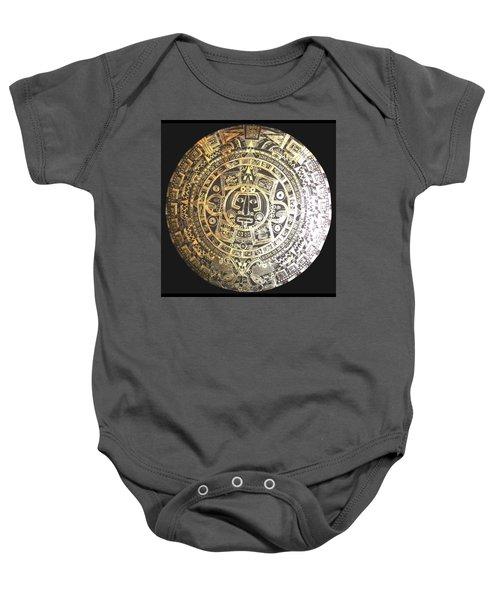Aztec Calendar Baby Onesie
