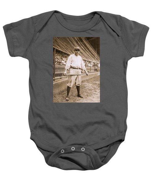 Babe Ruth On Deck Baby Onesie