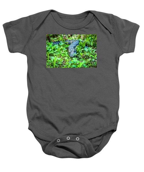 Baby Alligator Baby Onesie