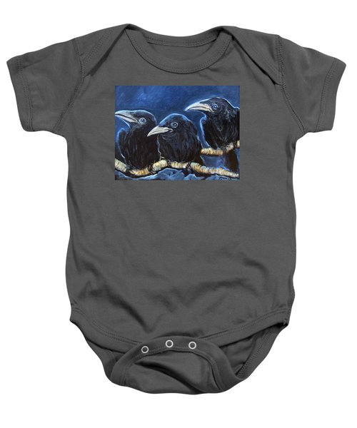 Baby Crows Baby Onesie