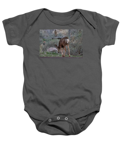 Back Into The Woods Baby Onesie