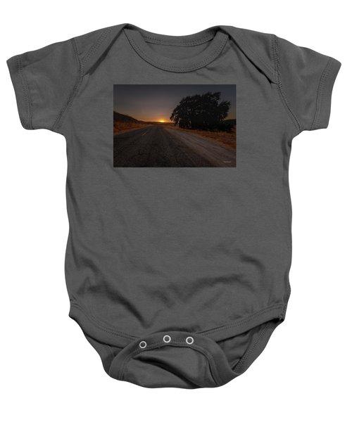 Back Road From Bradley Baby Onesie