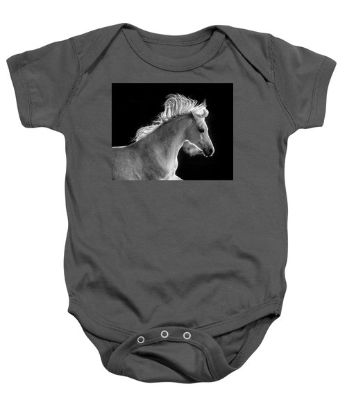 Backlit Arabian Baby Onesie