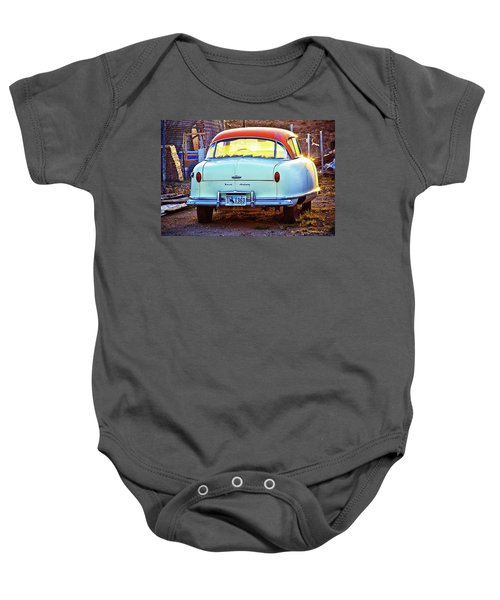 Backyard Jewell Baby Onesie