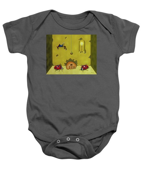 Badminton By Candlelight Baby Onesie