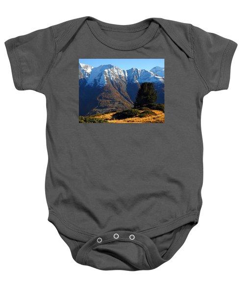 Baettlihorn In Valais, Switzerland Baby Onesie