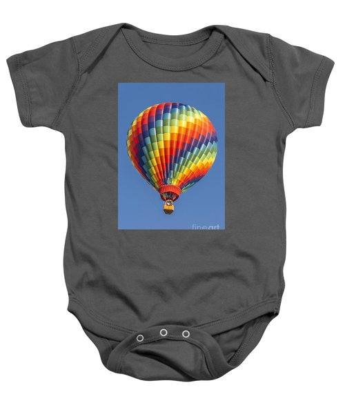 Ballooning In Color Baby Onesie