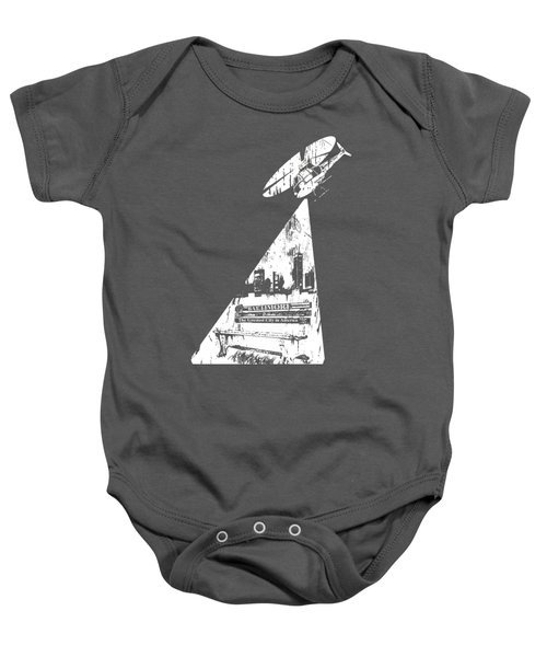 Baltimore Helicopter Baby Onesie