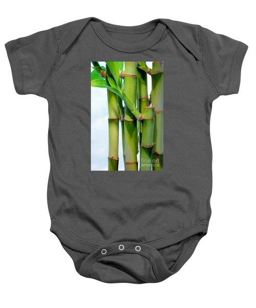 Bamboo And Sky Baby Onesie