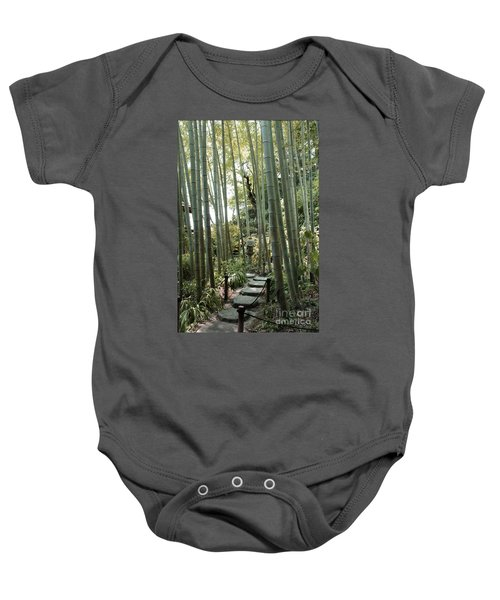 Bamboo Forest Baby Onesie