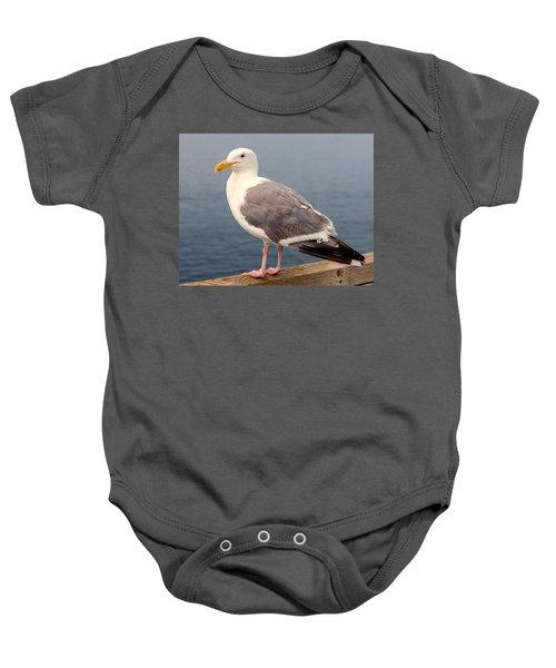 Bandon Seagull Baby Onesie