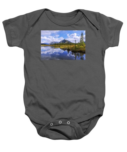 Banff Reflection Baby Onesie