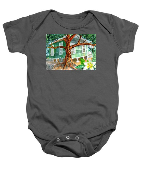Banyan In The Backyard Baby Onesie