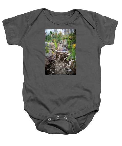 Baptism River In Tettegouche State Park Mn Baby Onesie