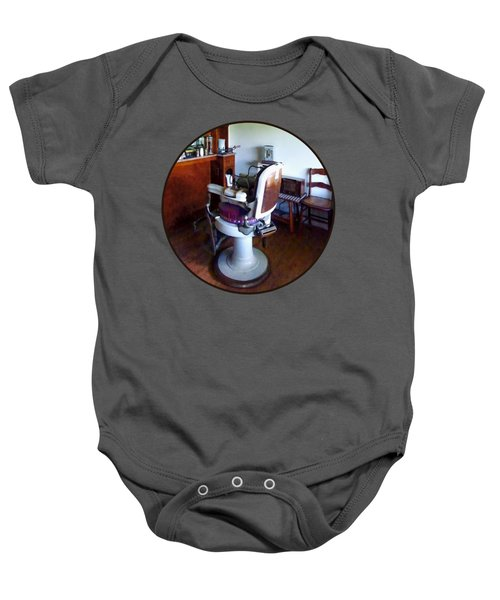 Barber - Old-fashioned Barber Chair Baby Onesie