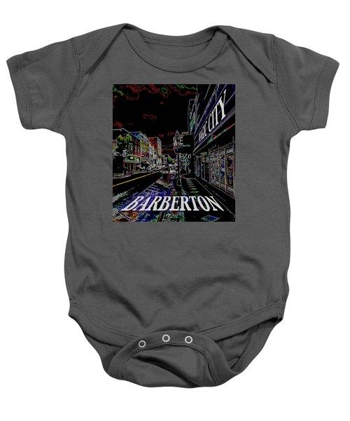 Barberton The Magic City Baby Onesie