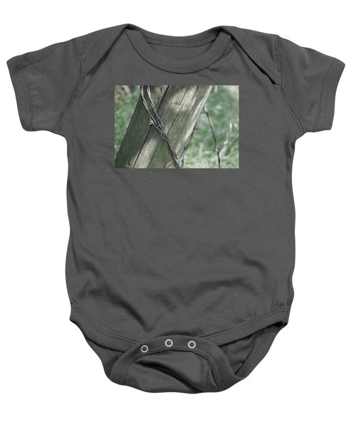 Barbwire Shadow Baby Onesie