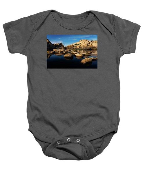 Barker Dam Lake Baby Onesie