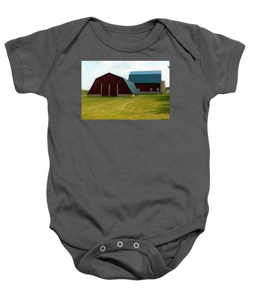 0004 - Barn Brothers Baby Onesie