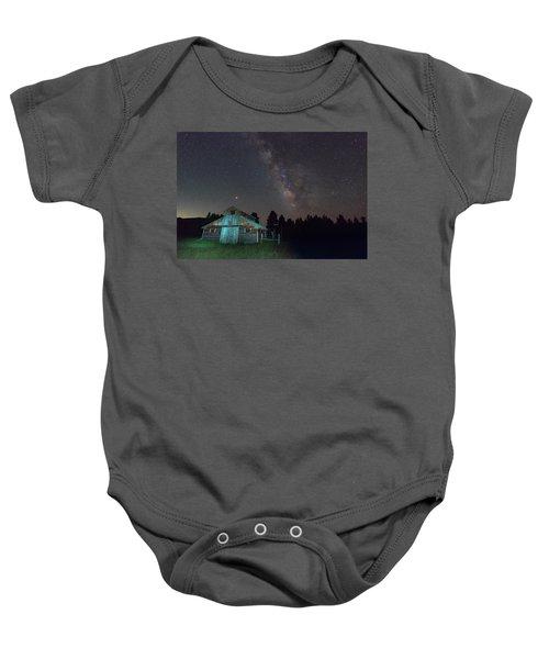 Barn In Rocky Baby Onesie