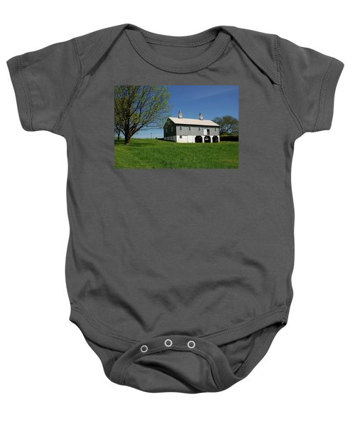 Barn In The Country - Bayonet Farm Baby Onesie