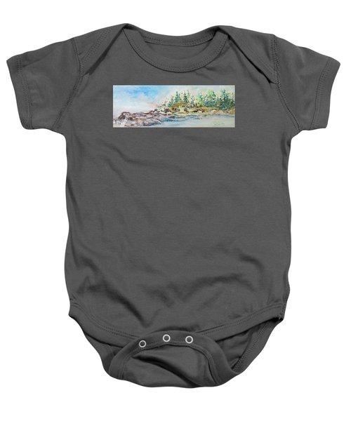 Barrier Bay Baby Onesie