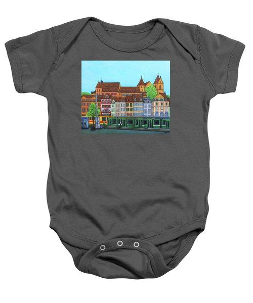 Basel, Barfusserplatz Rendez-vous Baby Onesie