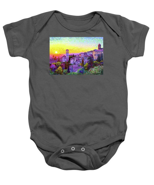 Basilica Of St. Francis Of Assisi Baby Onesie
