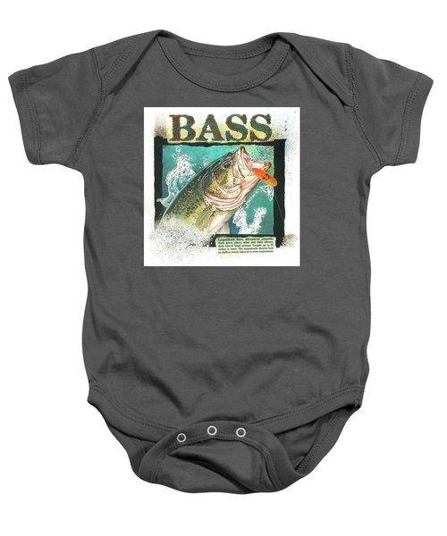 Bass Baby Onesie