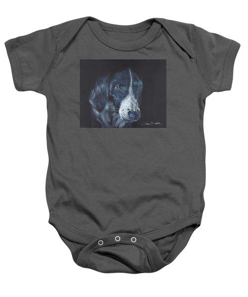 Basset Hound Baby Onesie