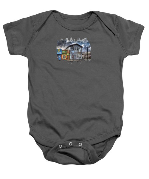 Bay Street Morning Baby Onesie