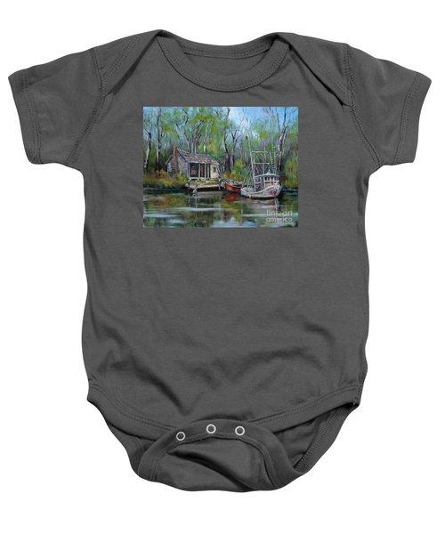 Bayou Shrimper Baby Onesie