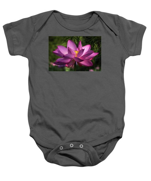 Be Like The Lotus Baby Onesie