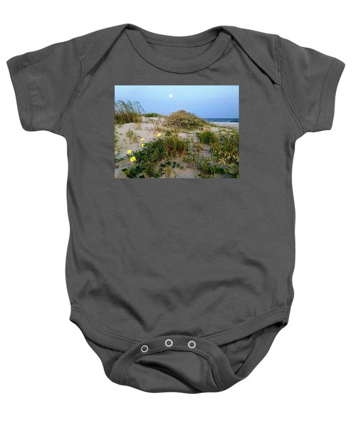 Beach Bouquet Baby Onesie